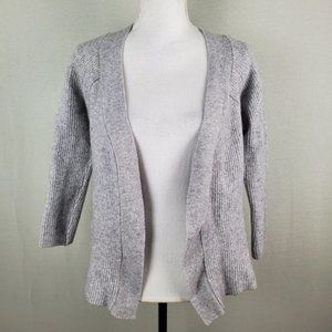 Fate by LFD Ribbed Open Cardigan Shrug Wool